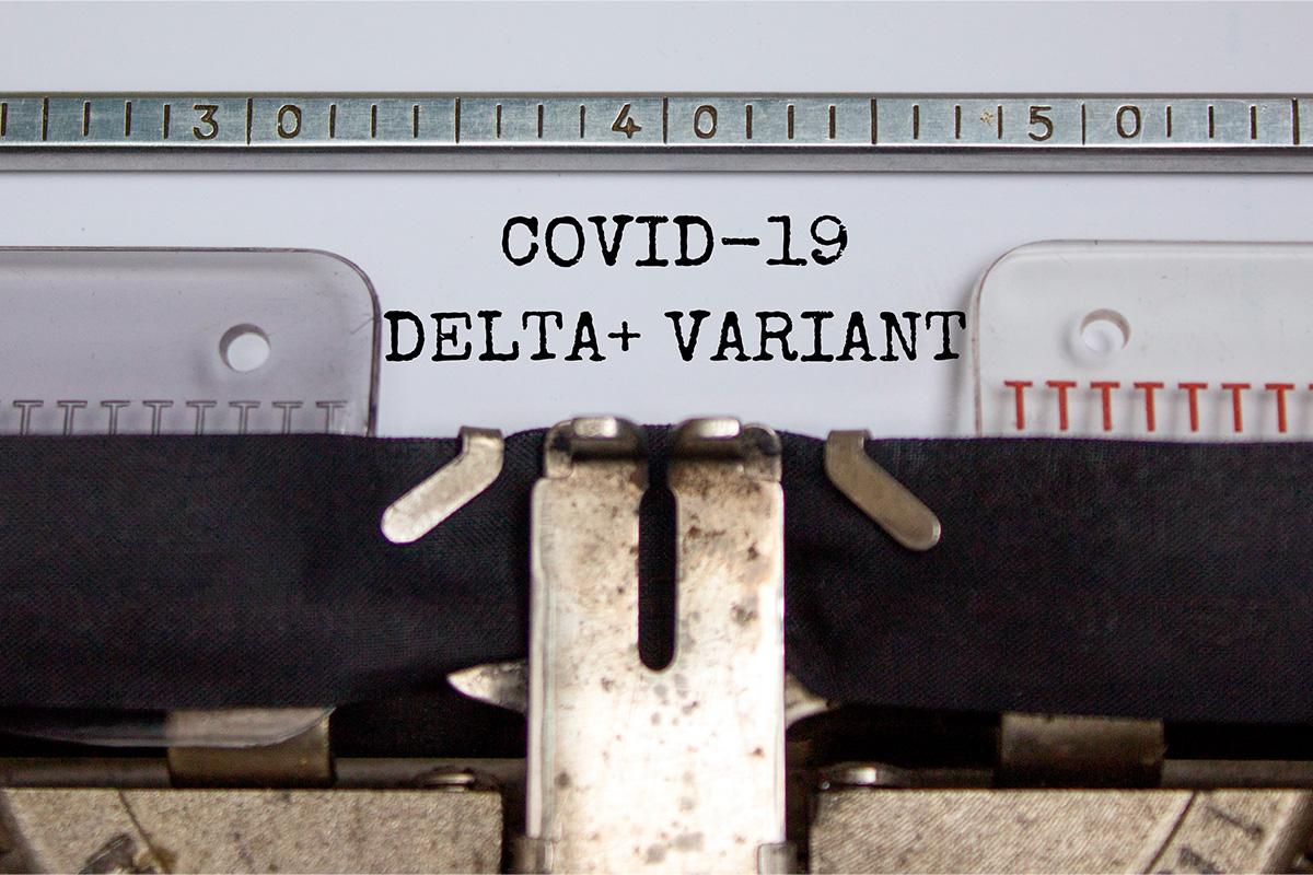 La variante Delta Plus de COVID-19
